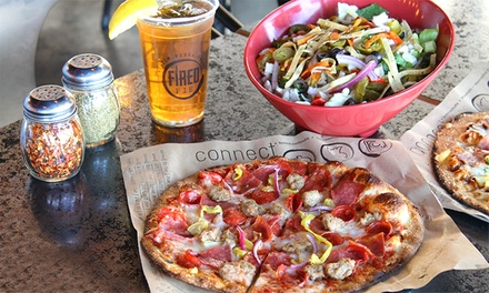 $17 for Two Groupons, Each Good for $15 Worth of Food and Drink at Fired Pie ($30 Value)