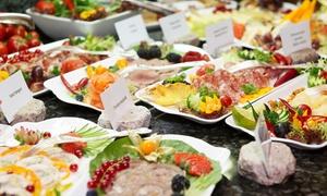 AGA´S HOTEL BERLIN Restaurant: Frühstücksbuffet für Zwei oder Vier inkl. Kaffee und Säfte in Aga's Hotel Berlin Restaurant (bis zu 40% sparen*)