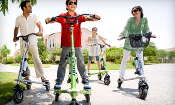 South Florida Trikke - Miami Beach: $25 for a Two-Hour Rental of a Motorized Trikke from South Florida Trikke ($60 Value)