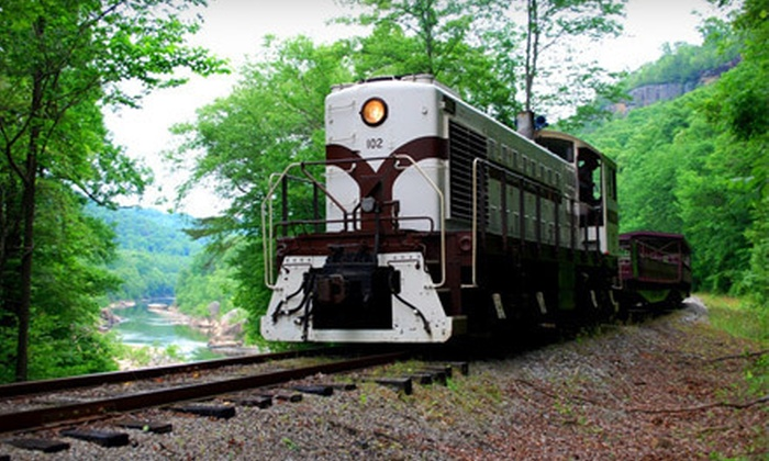 Big South Fork Scenic Railway - Stearns: Scenic Mountain Train Ride for Two or Four from Big South Fork Scenic Railway in Stearns (Up to 53% Off)