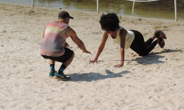 Fit & Us 1-on-1 Beach Training - Stone Mountain: Two Personal Training Sessions with Diet and Weight-Loss Consultation from Fit & Us 1-on-1 Beach Training