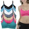 Women's Seamless Padded Bralettes (6-Pack)