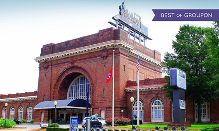 Stay at Chattanooga Choo Choo Hotel in Chattanooga, TN, with Dates into March