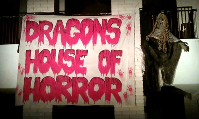 Dragon's House of Horror - Albuquerque: $16 for a Haunted-House Visit for Two at Dragon's House of Horror (Up to $30 Value)