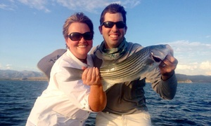 Hook Up Outfitters: Four-Hour Hooked-Up Striper Charter for One or Two from The Hook Up Outfitters (Up to 53% Off)