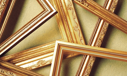 Custom Framing at FastFrame (Up to 61% Off). Two Options Available.