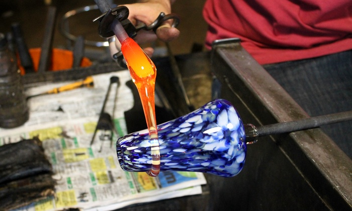 Boise Art Glass - Downtown: 1-Hour Glass-Blowing Class for Up to 2 or 2-Hour Torch-Working Class for 1 at Boise Art Glass (Up to 58% Off)