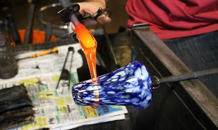 $75 for a One-Hour Glass-Blowing Class for Up to Two at Boise Art Glass ($150 Value)