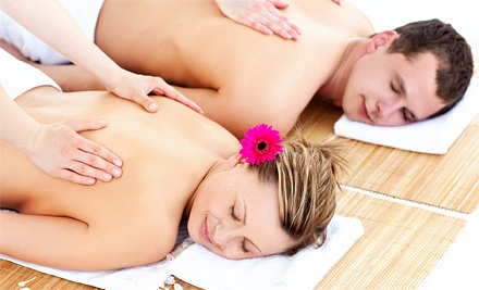 Lomi Lomi Massage for One or Choice of One of Three Couples Massages at Ma' Therapy Massage Spa Clinic (Up to 64% Off)