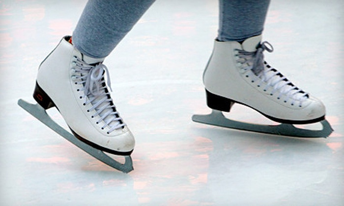 Alpine Ice Arena - Gardiner Lane: Ice Skating with Skate Rental and Soda or Hot Chocolate for Two or Four at Alpine Ice Arena (Up to 55% Off)