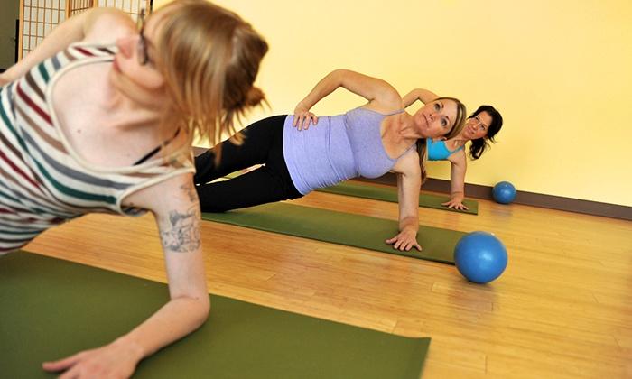Maya Whole Health Studio - Maya Whole Health: 10 or 20 Yoga or Pilates Classes at Maya Whole Health Studio (Up to 87% Off)