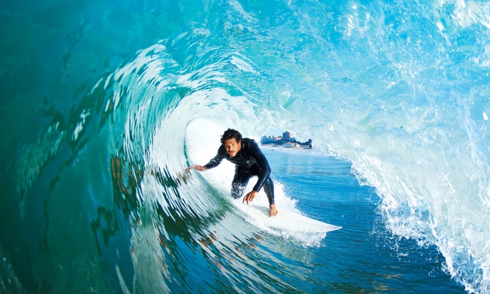 Learn2Rip Surfing and Ocean Academy (All Beaches) - Huntington Beach: Private or Semi-Private Surf or SUP Lesson for 1 or 2 from Learn2Rip Surfing and Ocean Academy (Up to 51% Off)