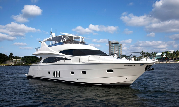 Coastal Yacht Tours - Fort Lauderdale: $1,999 for a Four-Hour Private Yacht Experience for Up to 12 from Coastal Yacht Tours ($3,499 Value)
