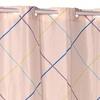 """Fairfield"" EZ-ON No-Hooks-Needed Fabric Shower Curtain"