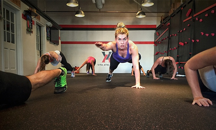 Vita Athletics - Summit: Fitness-Class Package or Membership at Vita Athletics (Up to 72% Off). Four Options Available.