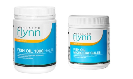 Flynn Health Fish Oil Halal or Micro Capsules: 800 .95 or 1600 .95 Don't Pay up to $126.60