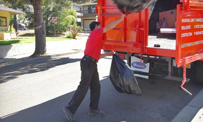 Junk King - Orange County: Minimum Size or One Quarter of a Truck's Worth of Junk Removal from Junk King (Up to 57% Off)