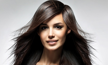 One Keratin Treatment or Smoothing Treatment from Andrea Thomas at L' Attrait Salon and Spa (50% Off)