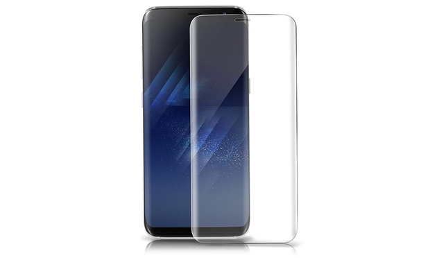 3 Pack of Tempered Glass Screen Protectors for Samsung: Non Curved Edge ($9.95) or Curved Edge ($16.95)