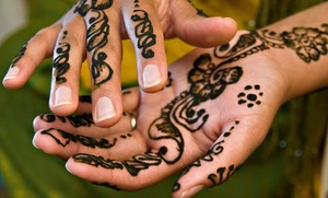 Fatima Eyebrow Threading & Henna Art: $25 for $45 Worth of Henna-Tattoo Services — Fatima Eyebrow Threading & Henna Art