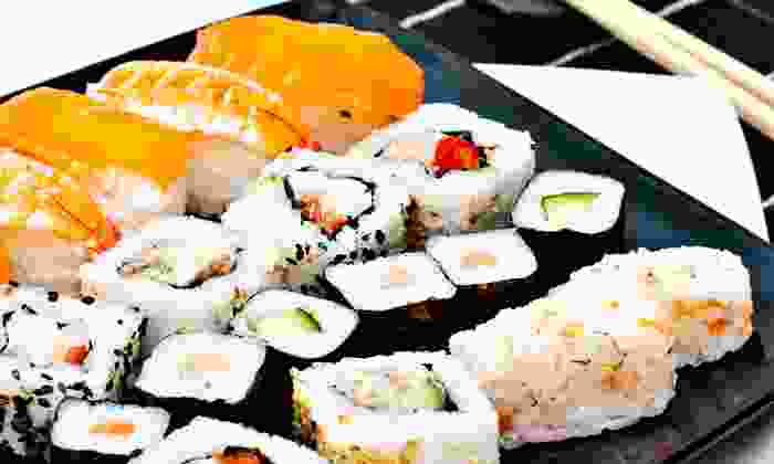 Woksabi - Collingswood: $15 for $25 Worth of Sushi and Hibachi Cuisine for Two or More at Woksabi