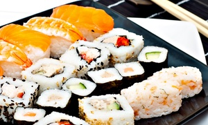 $15 For $25 Worth Of Sushi And Hibachi Cuisine For Two Or More At Woksabi