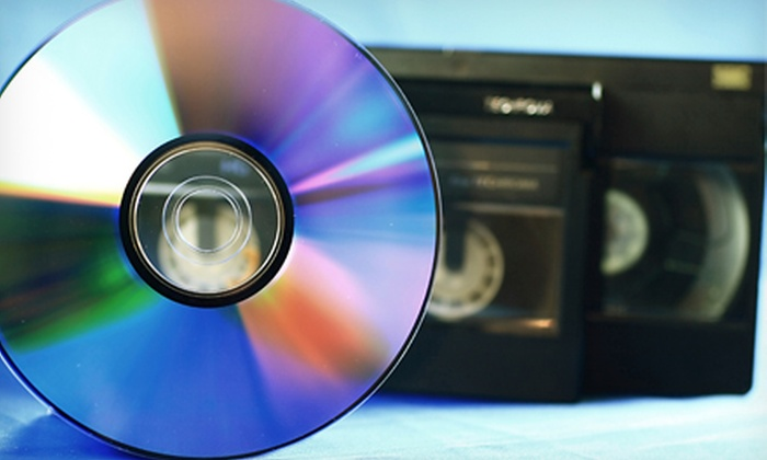 Memories On Media - East Forest: $44.99 for Conversion of Up to Five Videotapes to DVD at Memories On Media (Up to $89.95 Value)