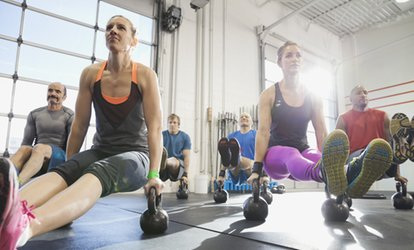 image for Five or Ten CrossFit Training Sessions at CrossFit KIA (Up to 92% Off)