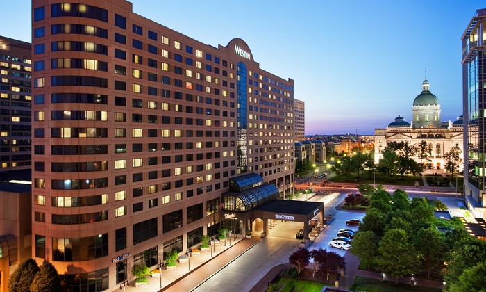 4-Star Westin in Downtown Indy
