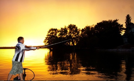 Half- or Full-Day Guided Fishing Trip for Two or Guided Fishing Competition from Grave Fishing, LLC (Up to 51% Off)