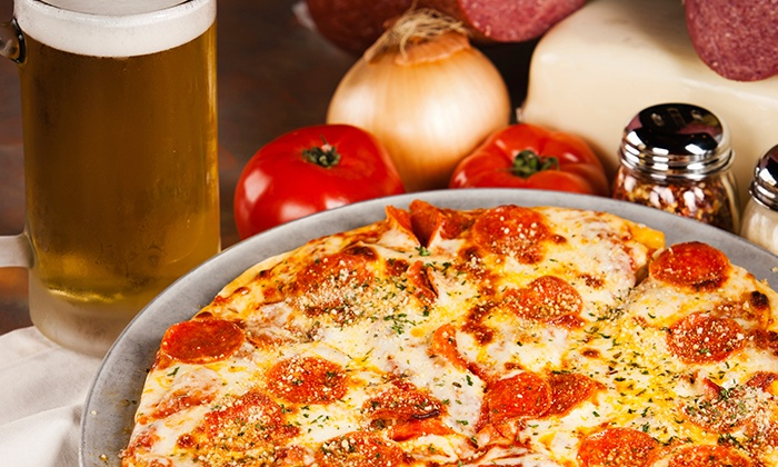 Mark's Place - Maryland Heights: Pizza and Beer for Two or $12 for $25 Worth of Bar Drinks at Mark's Place