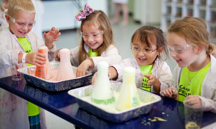 Little Beakers - The Woodlands : One 60-Minute Kids' Science Hands-On Lab Visit at Little Beakers (40% Off). Two Options Available.