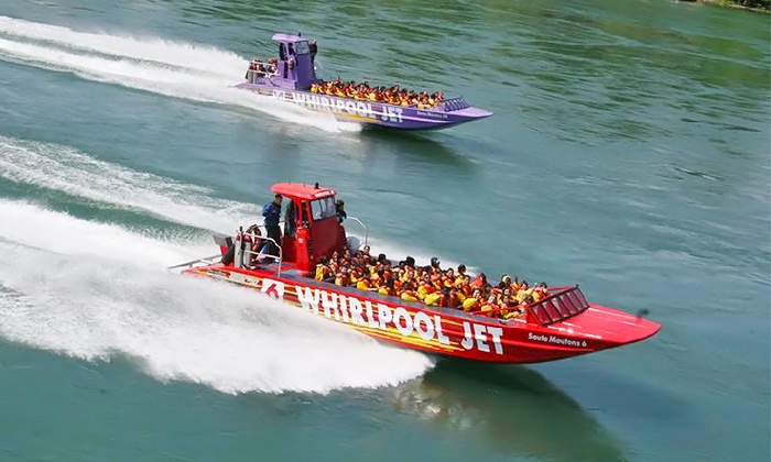 Whirlpool Jet Boat Tours - Lewiston: $99 for Jet Boat Tour and Dinner Cruise Package from Whirlpool Jet Boat Tours ($135 Value)