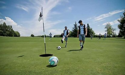 image for 18 Holes of Foot Golf with a Drink at South Essex Golf Centre (Up to 53% Off)