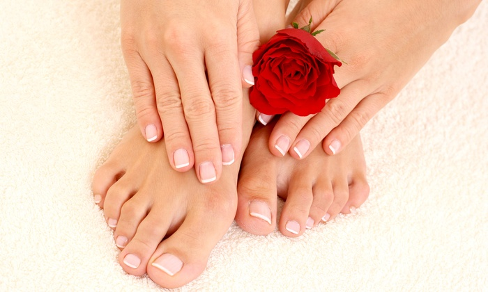 PL Nail Salon - Lake City: One or Two Deluxe Mani-Pedis at PL Nail Salon (Up to 53% Off)