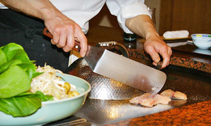 Fuji Steak House - Needham: $20 for $40 Worth of Japanese Hibachi Dinner for Two or More at Fuji Steak House