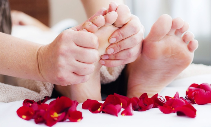 Lucky Foot Spa - Paradise: 60-Minute Hot Stone Foot Reflexology or Foot Reflexology and Ionic Detox at Lucky Foot Spa (Up to 55% Off)