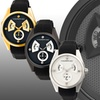 Morphic M34 Series Men's Watch with Day and Date Display