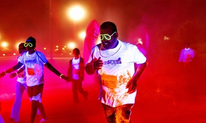 Color Fun Fest - Houston: Day or Night 5K Run from Color Fun Fest on Saturday, October 12 (Up to 60% Off)