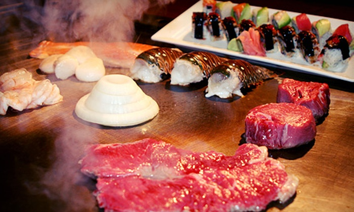Samurai Japanese Steak & Sushi Bar - Fairfax: $15 for $30 Worth of Japanese Hibachi Cuisine at Samurai Japanese Steak & Sushi Bar