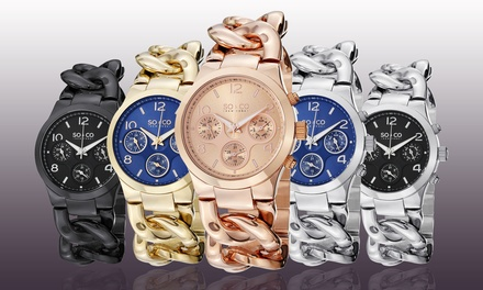 SO & CO Women's SoHo Casual Bangle Watch Collection