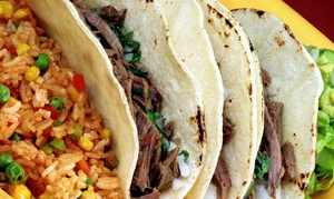 Paquito's Tacos Cantina: $12 for $20 Worth of Dine-In or Carryout Mexican Food at Paquito's Tacos Cantina