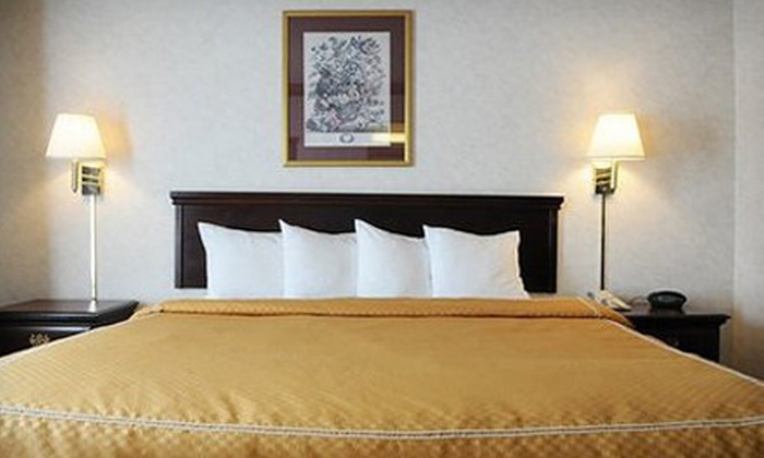 Quality Suites Airport - Northland: One- or Two-Night Stay at Quality Suites Airport (Up to 66% Off)