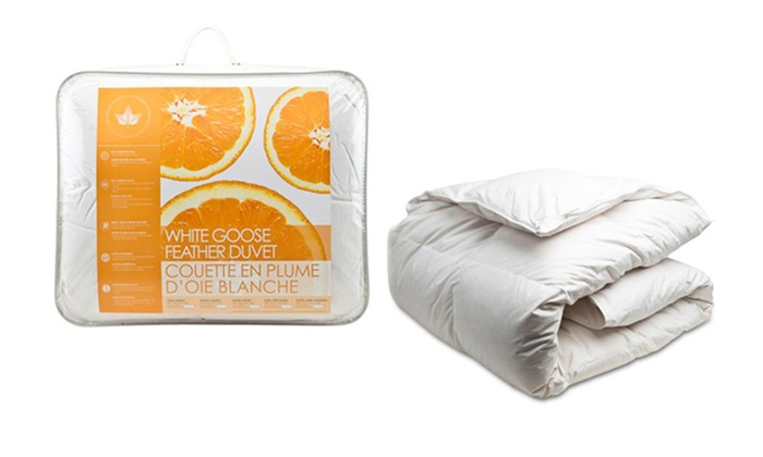 Canadian Down Feather Company White Goose Duvet From 54 84 Shipping