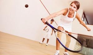 Aloha Sport Club: 1, 2 oder 3 Stunden Squash inklusive Schlägern und Ball für Zwei im Aloha Sport Club (bis zu 61% sparen*)