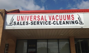 Universal Vacuums: $25 for $50 Worth of Any Vacuum Services — Universal Vacuums