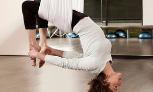 The Fit Factory: Three, Five, or Seven Antigravity Hammock Classes at The Fit Factory (Up to 54% Off)
