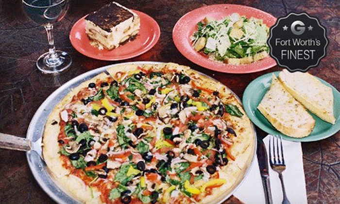 Palio's Pizza Cafe - Multiple Locations: $10 for $20 Worth of Italian Food at Palio's Pizza Cafe