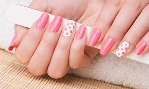 Studio hair & co: Manicure with Gel Polish ($19) or Nail Art ($25) at Studio Hair and Co, Brunswick West (Up to $40 Value)