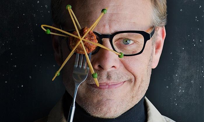Alton Brown - Crown Theatre: Alton Brown: Eat Your Science Tour on April 7 at 8 p.m.